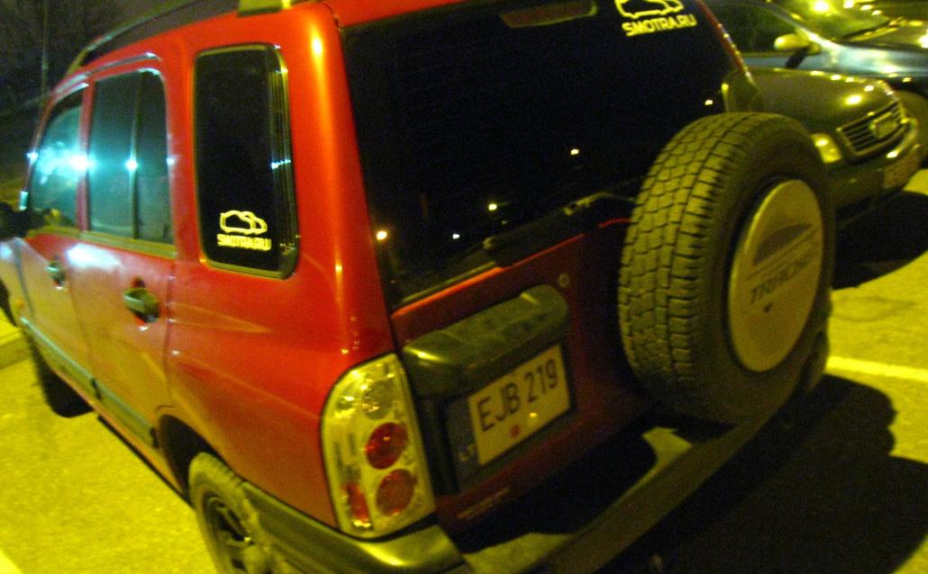 Chevrolet Tracker Chevi