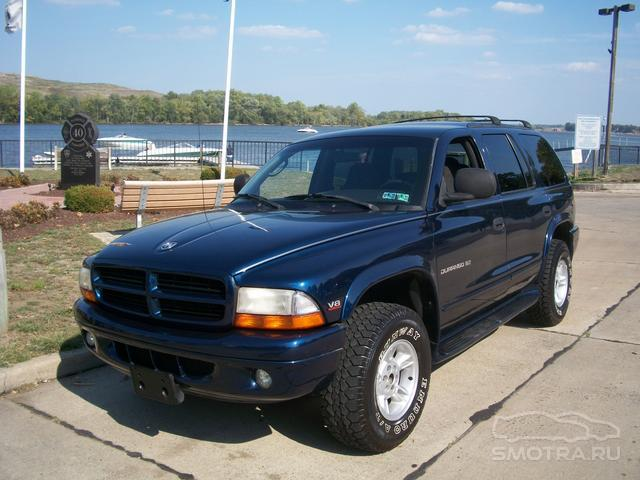 Dodge Durango Blue_monster