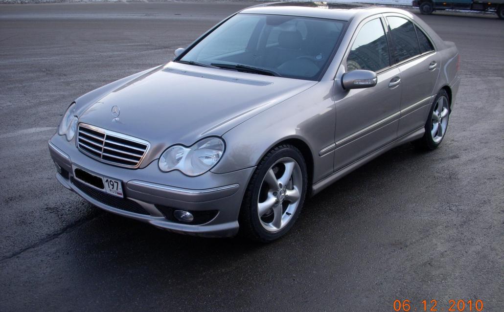 Mercedes-Benz C-klasse (W203) Урчальник