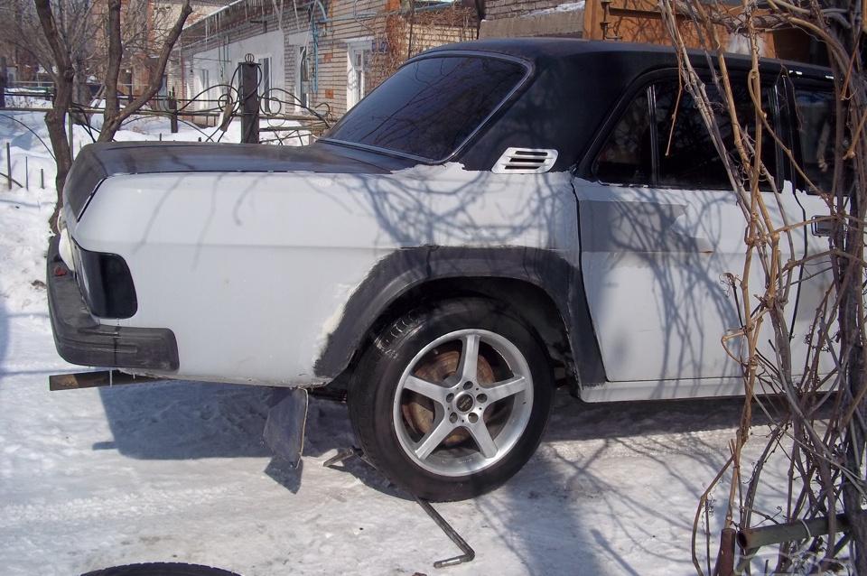 ГАЗ 31029 Черно-белая
