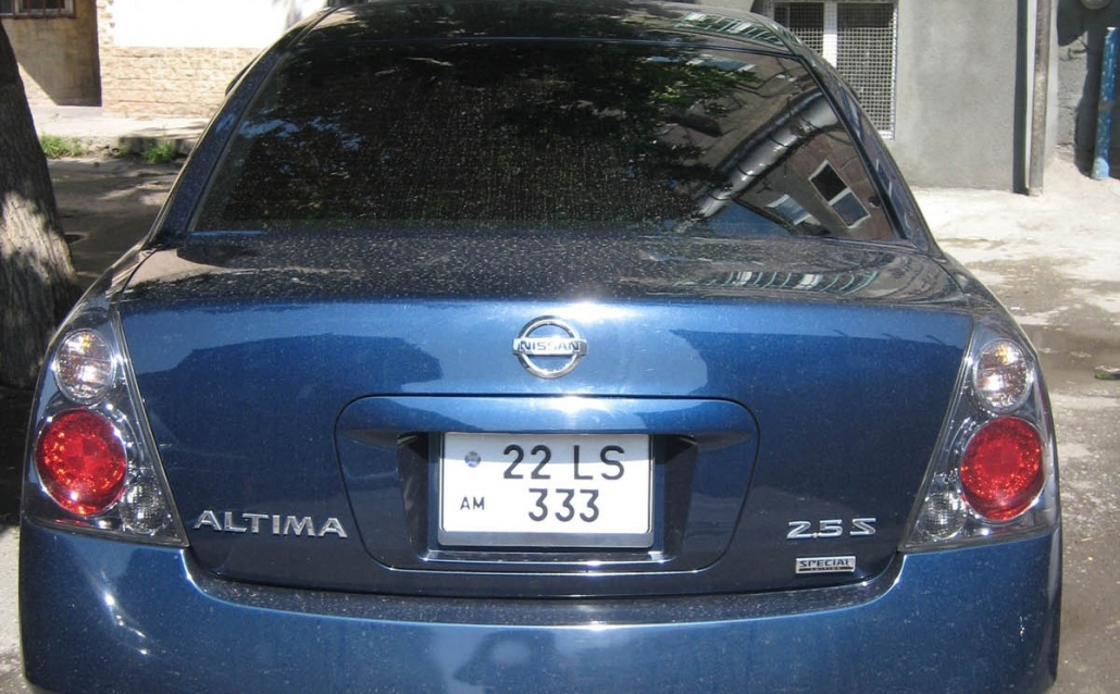 My Blue candy Altima