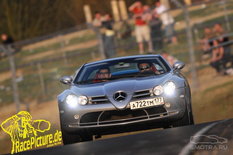 Mercedes-Benz SLR McLaren (C199) Coupe McLaren evotech