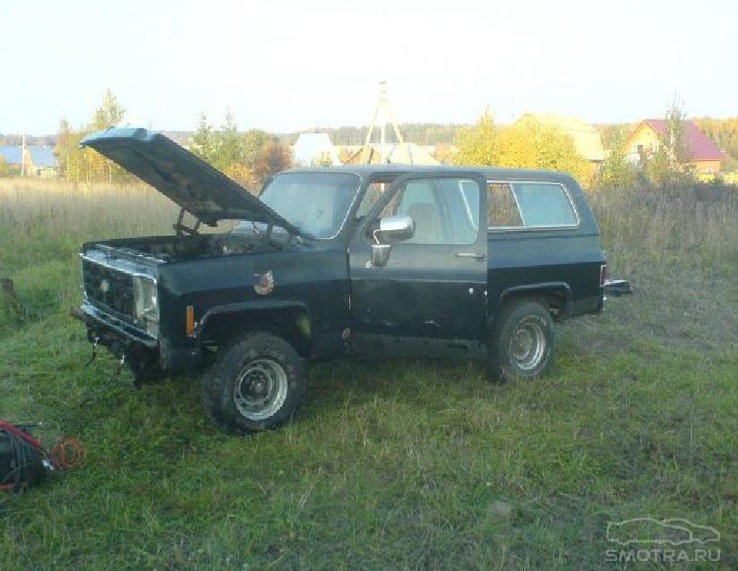 """Chevrolet Blazer I """"кирпич"""""""