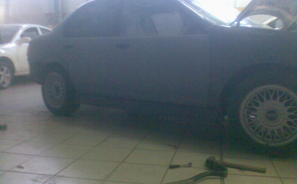 Toyota Tercel (EL41) почти машина:)
