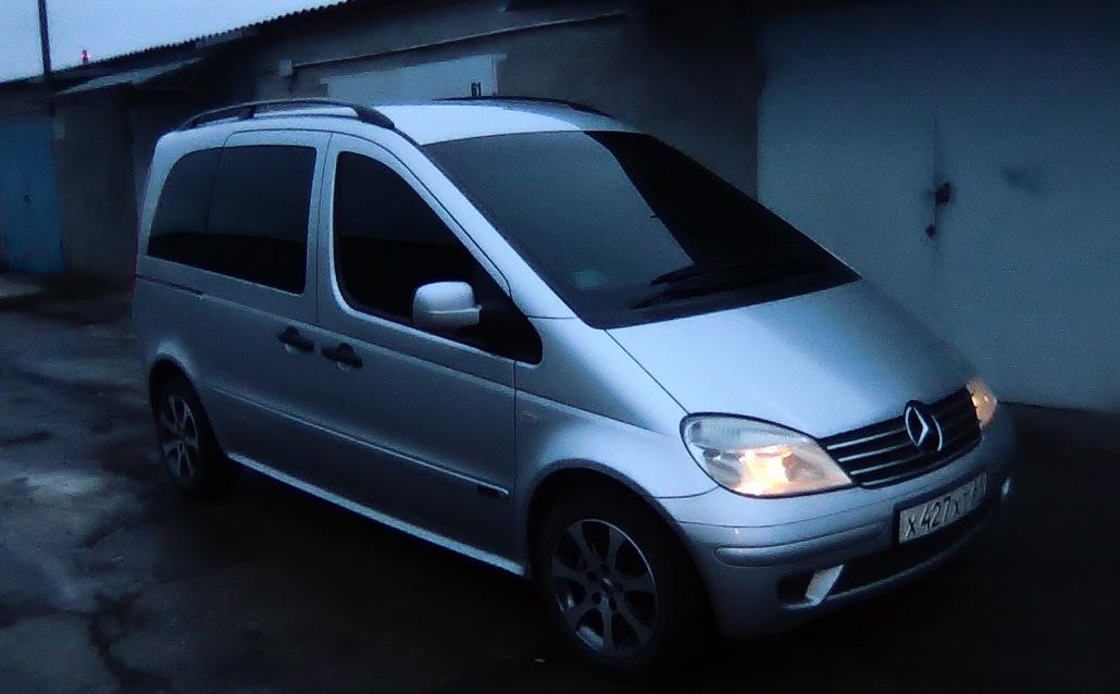 Mercedes-Benz Vaneo (W414) Ваня)))