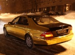 Mercedes Gold Edition
