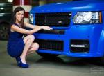 ONYX Concept Platinum V Blue Matte Supercharged Beast