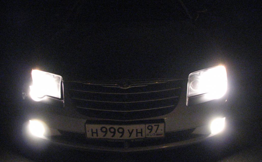 Chrysler Crossfire *Раненый боец))