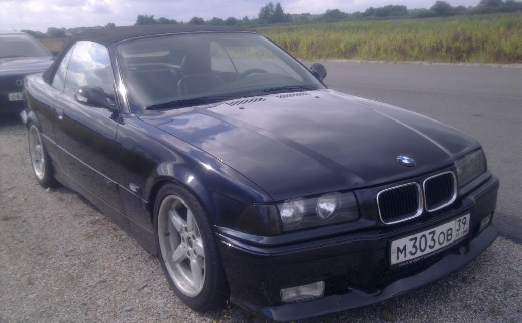 BMW 3er Cabrio (E36) Кабрик