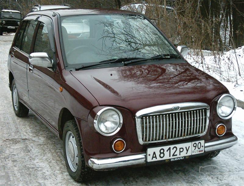 Subaru Bisto Type R Малышка