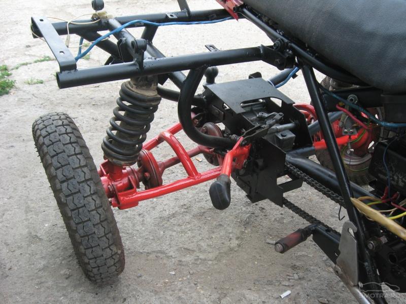 Как сделать трицикл из мотоцикла тула 6