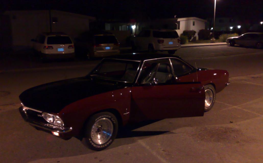 Chevrolet Corvette Coupe (YY) Раста-кар