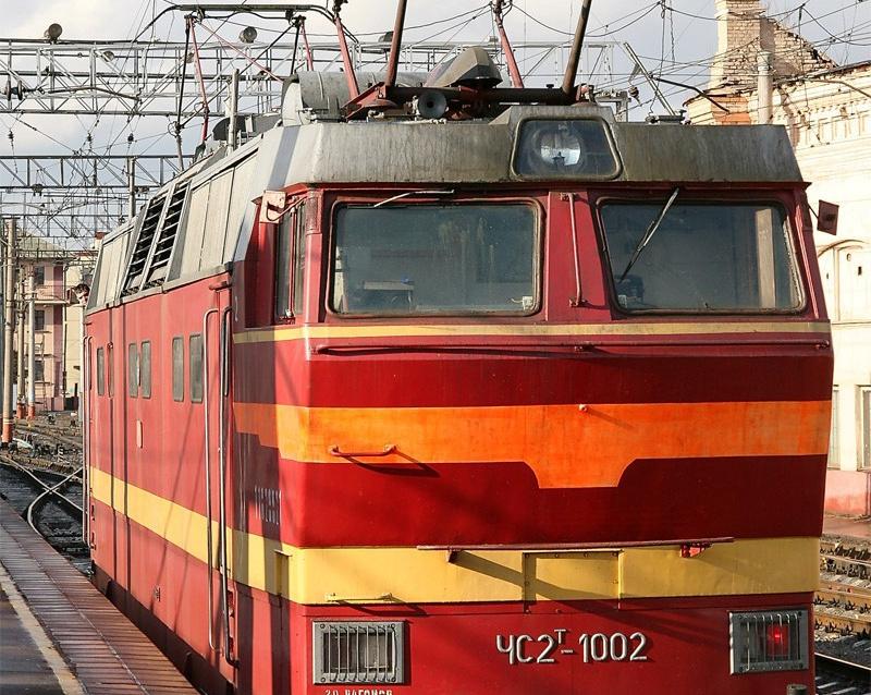 Skoda 105,120 (744) Электровоз ЧС2Т-1002