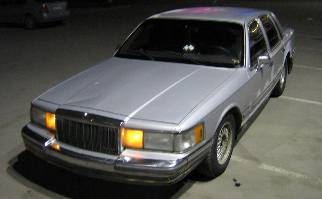 Lincoln Town Car  Silver Linc