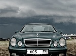 Mercedes цвета Ирландии
