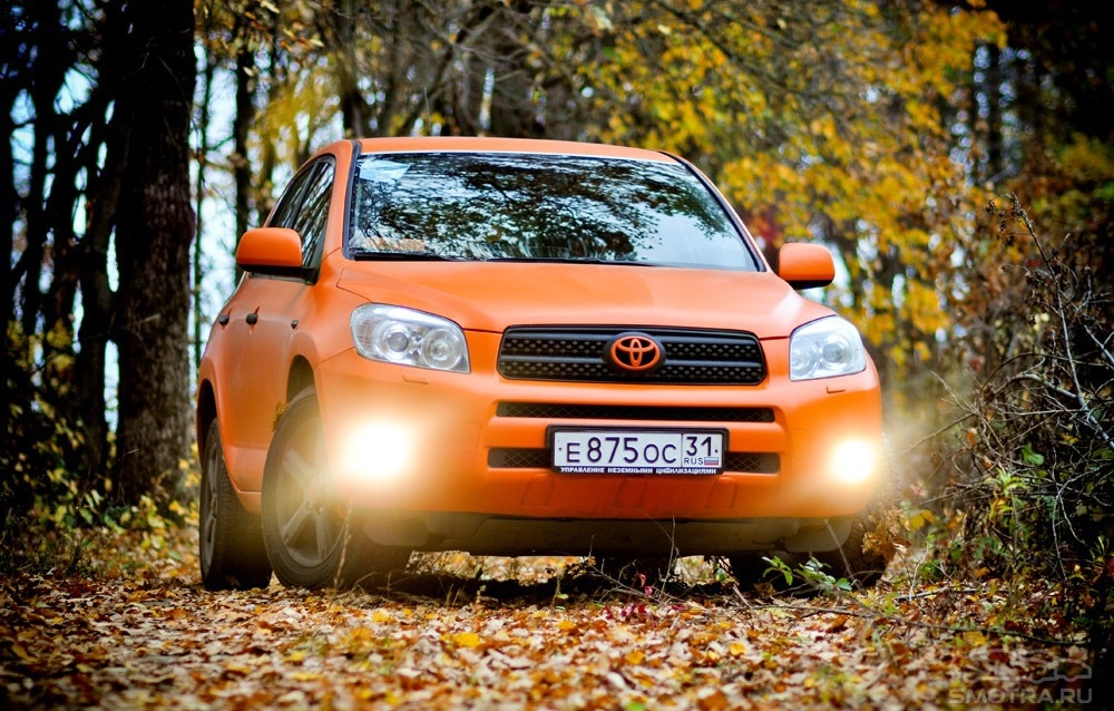 Toyota RAV4 III orange edition