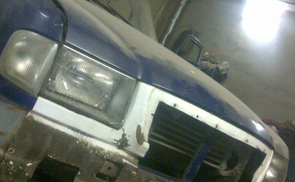 ГАЗ 3110i reconstruction