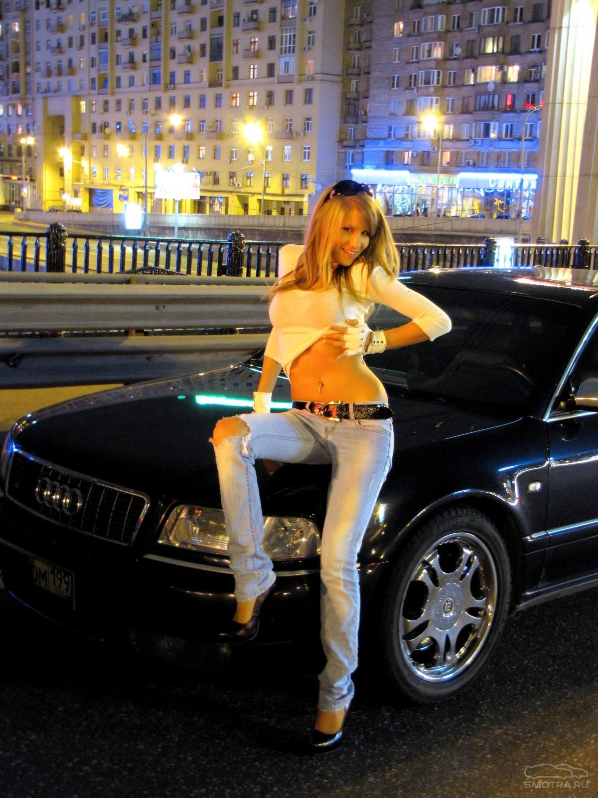 Русские женщины в машине 2 фотография