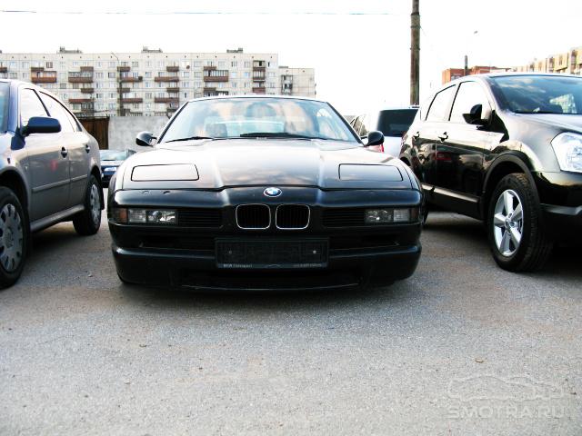 BMW 8er (E31) '850 Чёрная Бэха' или 'Тень 90-х'