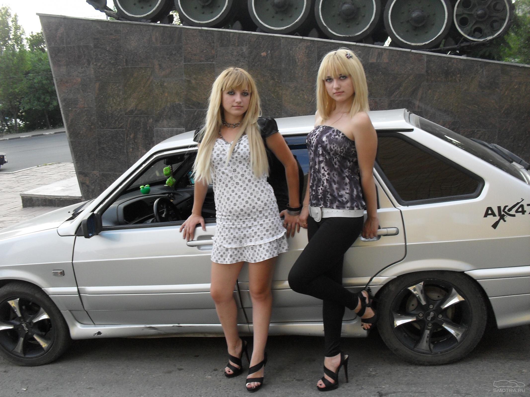 Смотреть бесплатно фото отечественных авто и девушки 5 фотография