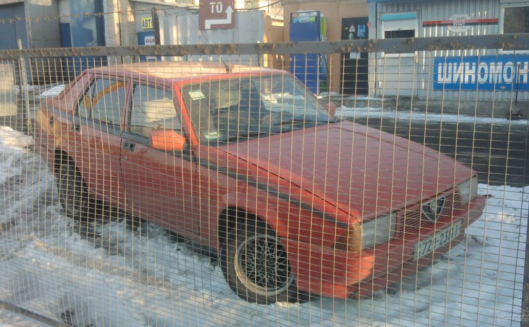 Alfa Romeo 75 (162B) Зверёк