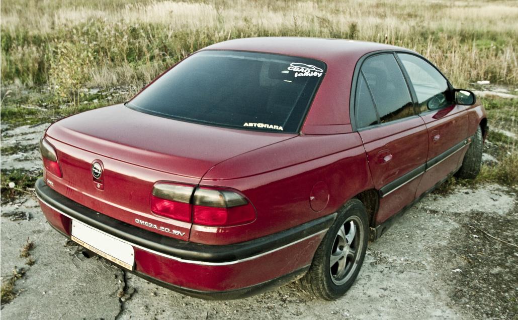 Opel Omega B ПодпOPELь