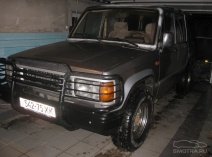 Isuzu Trooper Soft Top