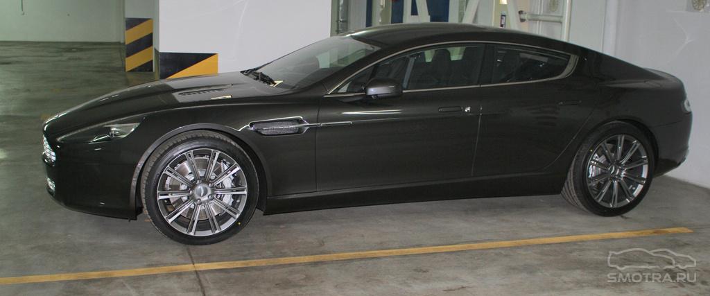 Aston Martin Rapide Самый элегантный