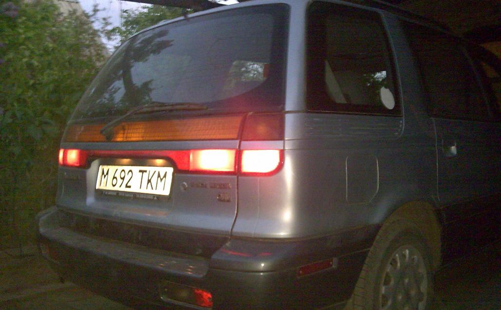 Mitsubishi Space Wagon (N3_W,N4_W) Crazy Wagon