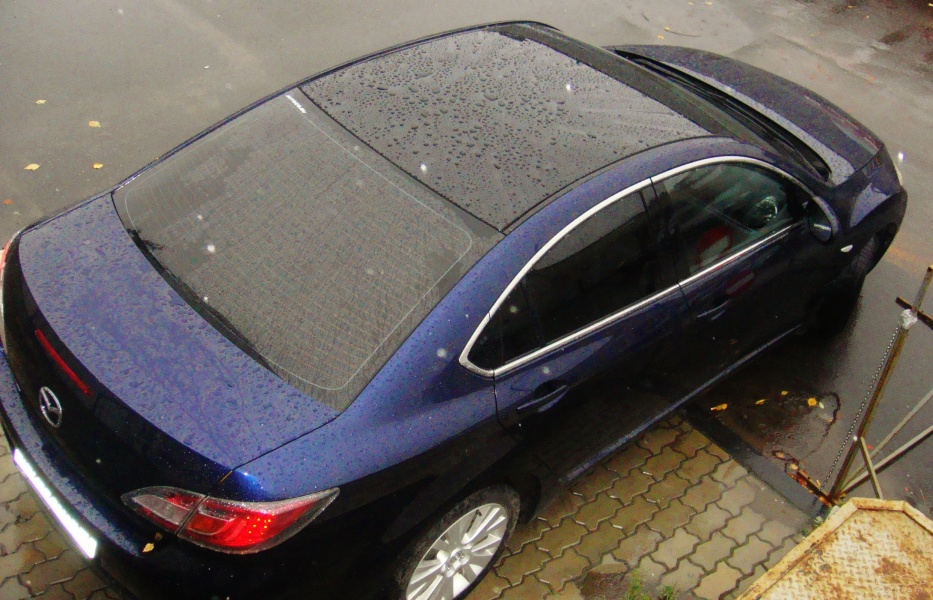 Покрасить крышу автомобиля своими руками