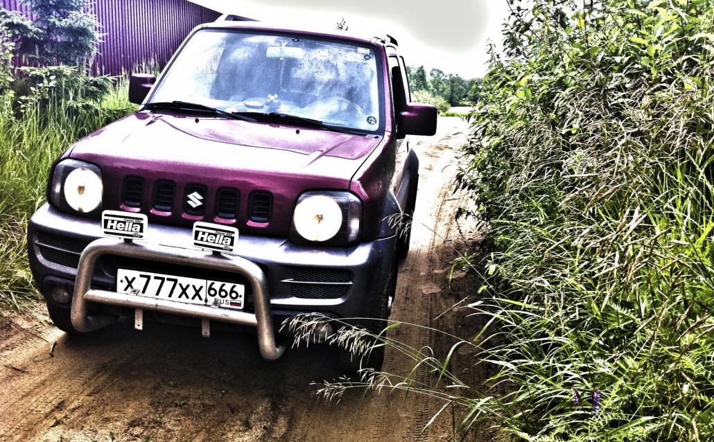 Suzuki Jimny (FJ) Шайтан Аппарад