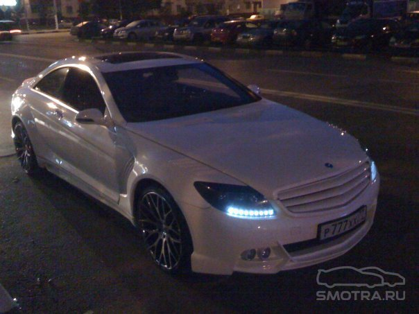 Mercedes-Benz CL-klasse (W216) White label
