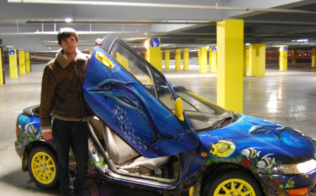 Toyota Sera (Y10) Аквариум