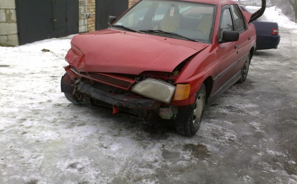 Моя первая машина Ford))