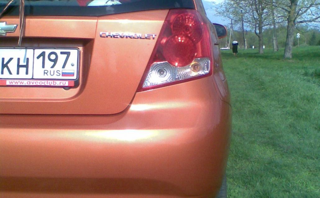Chevrolet Aveo Hatchback 5-дв. Chevy