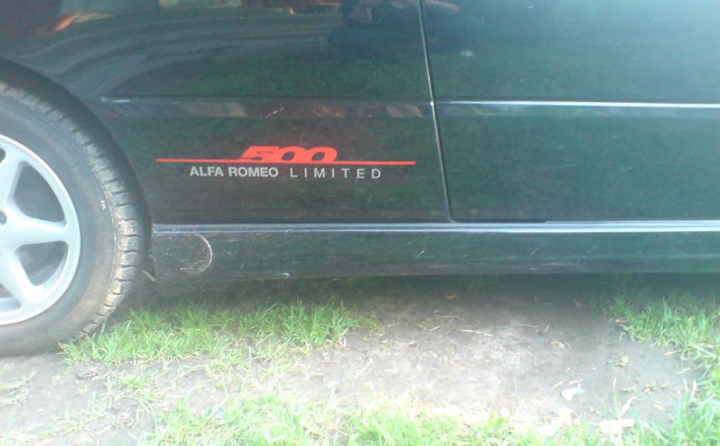 Alfa Romeo 145 ''Limited 500'' (930A) '2000