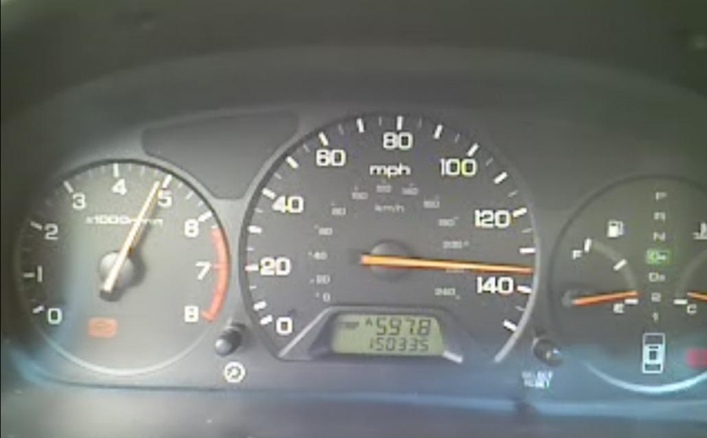 Honda Accord VI Coupe хромая