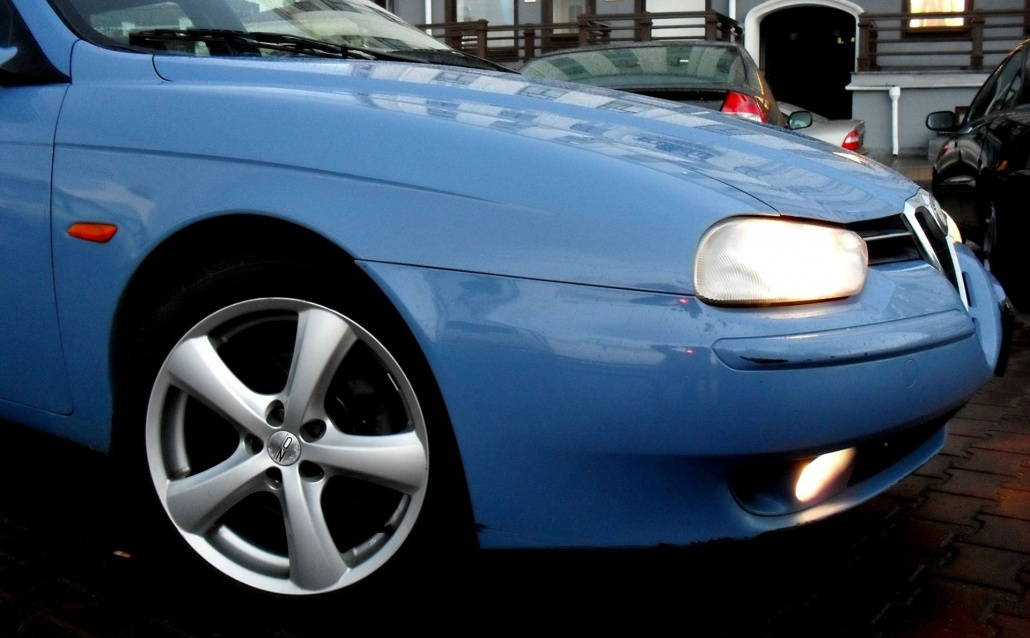 Alfa Romeo 156 Sport Wagon Голубая мечта