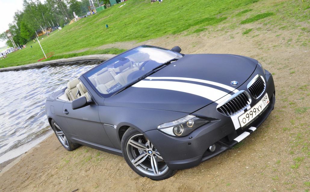 BMW 6er Convertible (E64) Карбонка.