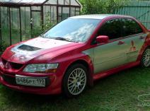 Mitsubishi Lancer Evolution VIII