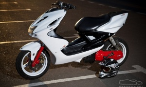 Hot moto speed: yamaha aerox 100 aerox