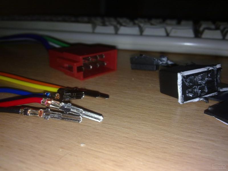 Подключаем магнитолу на ауди А6 с5.