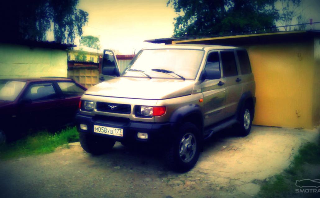 УАЗ 31622 Гроза бездорожья ;) (Продан)