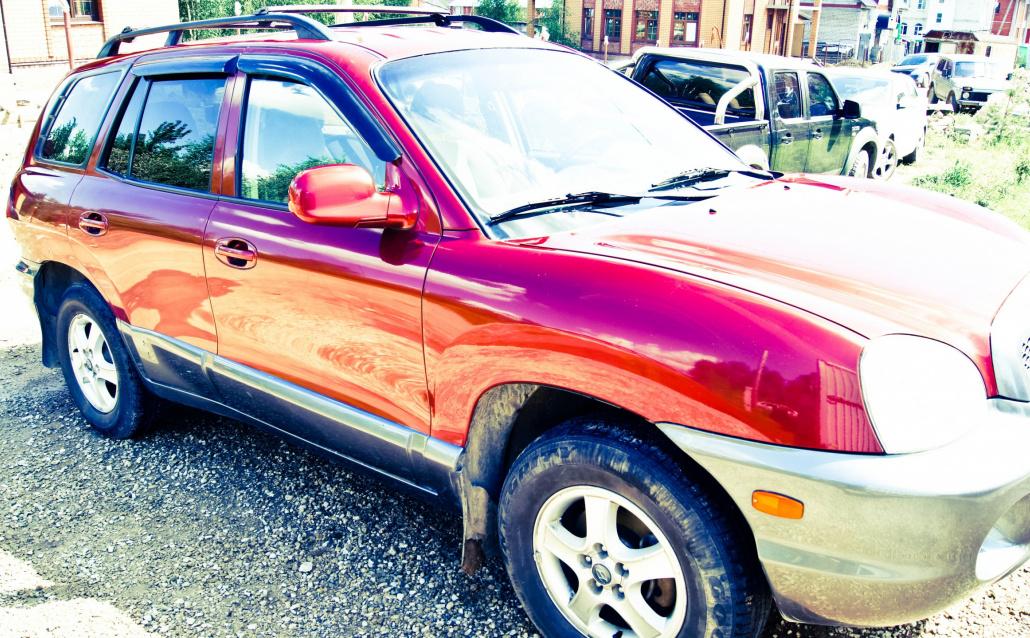 Hyundai Santa Fe I ПОЖАРКА!
