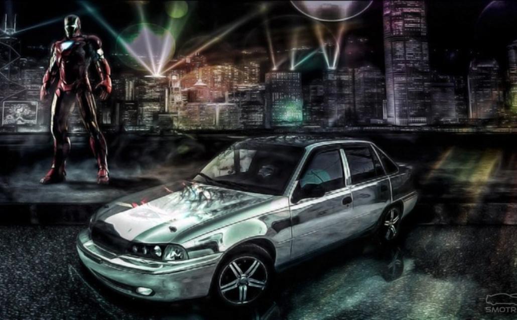 Daewoo Nexia (KLETN) Stark Industries (mark 2)