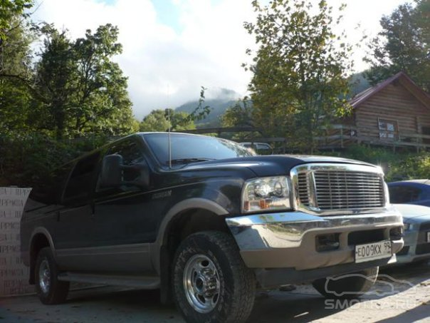 Ford Excursion Кеша