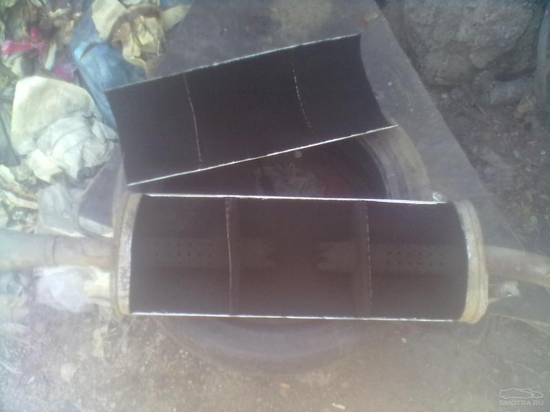 Фото №26 - ремонт глушителя ВАЗ 2110 своими руками
