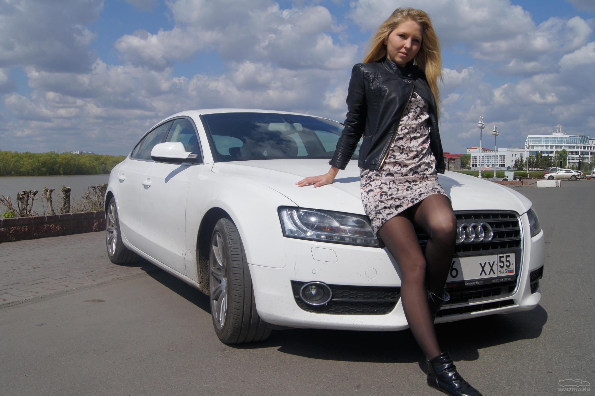 Русские женщины в машине 9 фотография