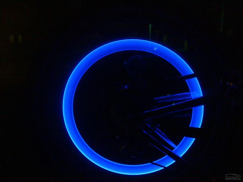 Подсветка на колёса велосипеда