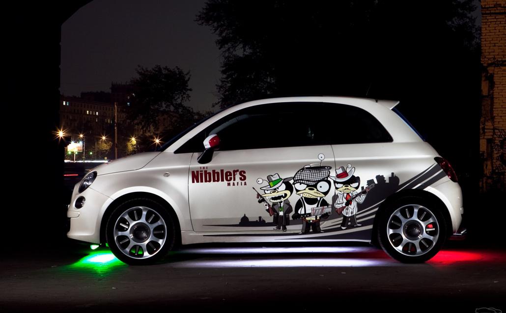 Fiat 500 Nibblers mafia